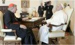 Francisco recibe al cardenal Pell, que no era pederasta… pero ya está amortizado