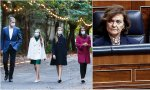 Carmen Calvo, carabina regia en los Premios Princesa de Asturias
