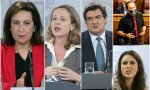 Robles, Calviño y Escrivá, los ministros mejor valorados por los españoles...¿y los peores? la pareja Iglesias e Irene Montero
