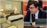 Pisarello, uno de los cuatro enviados por Iglesias a Bolivia, donde se hospeda en un hotel cinco estrellas