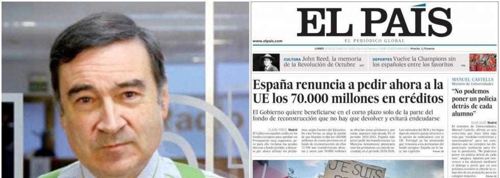 Pedro J. Ramírez se postula para dirigir El País