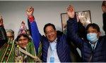 Luis Arce -candidato de Evo Morales-, presidente electo de Bolivia