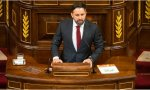 Santiago Abascal critica el consenso progre que promueve el aborto y defiende a la familia