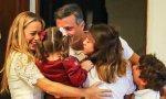 Leopoldo con su familia
