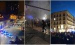 Disturbios en Gamonal (Burgos) y Barcelona