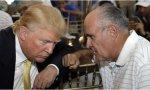 Trump y su abogado Rudy Giuliani