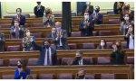 """Gritos de """"¡libertad, libertad!"""" al término del debate de las enmiendas a la 'ley Celaá'"""