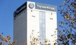 Fábrica de la siderúrgica alemana Thyssenkrupp en Móstoles (Madrid)