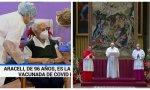 TVE. Los espectadores le dan la espalda a la propaganda Sánchez: eligen la Santa Misa de La 2, frente al especial sobre la vacuna de La 1
