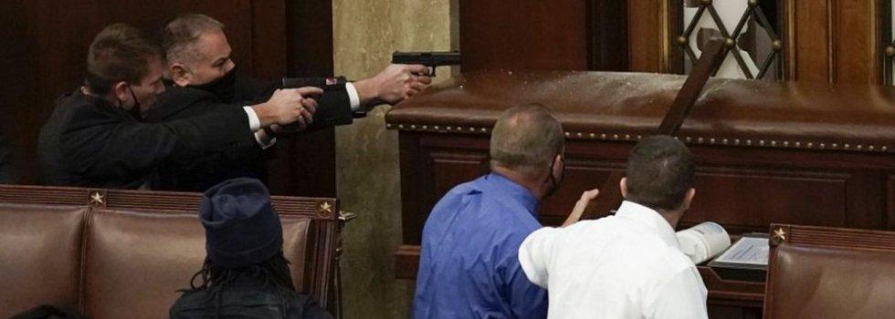 ¿Dónde está el matón que ejecutó a Ashli Babbitt durante el asalto al capitolio?