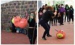 Furor feminista: fotos de mujeres golpeando una piñata con la forma de un feto causan controversia en redes sociales