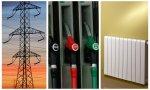 Luz, carburantes y calefacción