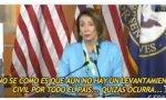Entre todas las animaladas antedichas, destaca, muy especialmente, las de Nancy Pelosi, presidenta de la Cámara de Representantes de los Estados Unidos de América