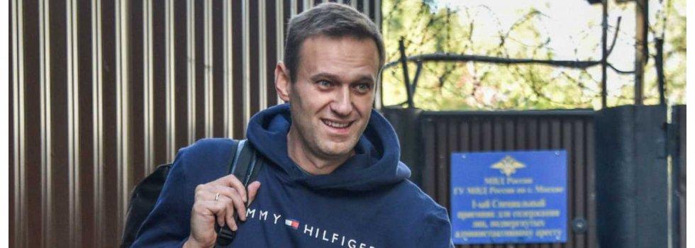Alexey Navalny, líder opositor ruso: la eliminación de Donald Trump en Twitter es un acto inaceptable de censura… porque en Twitter tienen cuenta asesinos a sangre fría como Nicolás Maduro o Vladimir Putin