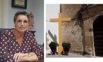 La alcaldesa de Aguilar de la Frontera, Carmen Flores, ha derribado la Cruz del Llanito de las Descalzas, pese a que no incumplía la Ley de Memoria Histórica