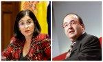 La nueva ministra de Sanidad, Carolina Darias y Miguel Iceta, un nacionalista frívolo, al frente del ministerio dedicado a mantener la unidad de España