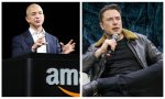 Jeff Bezos (Amazon) y Elon Musk (Tesla), los dos hombres más ricos del mundo