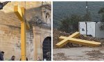 Un Juzgado abrió diligencias contra la alcaldesa de Aguilar de la Frontera por tirar la cruz al vertedero