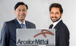 Lakshmi N. Mittal y su hijo Aditya Mittal