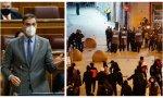 Caso Hasél: Sánchez condena la violencia en genérico pero evita aludir a Podemos, su socio de Gobierno