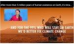 La necedad crece. Greta, ahora podemita: sólo un 1% de la población podría colonizar Marte...