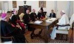 Obispos europeos con el Papa