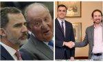 El Culpable no es Juan Carlos I, es Felipe VI. El culpable no es Pablo Iglesias, es Pedro Sánchez
