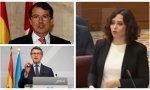 El PP se parte en dos: Feijóo y Mañueco, se alían con las comunidades socialistas y arremeten contra la presidenta madrileña