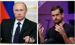 Putin amenaza al Twitter de Jack Dorsey
