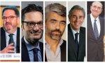 Bieito Rubido, Joseph Oughourlian, Luis Enríquez, Antonio Fernández-Galiano y Mauricio Casals