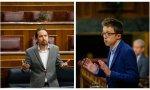 Errejón da calabazas a Iglesias. Más Madrid no acepta la oferta del 'macho alfa' y no se integrará en una coalición junto a Podemos