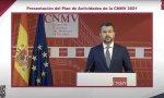 Rodrigo Buenaventura, durante la presentación telemática del plan de actividades 2021-2022 de la CNMV