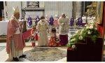El Papa Francisco celebró una misa conmemorativa de los 500 años de la llegada del Evangelio a Filipinas, llevado por los misioneros españoles