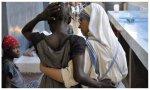 """""""La Iglesia, con sus misioneros, está cuidando en muchas ocasiones, de modo heroico, a muchas personas que sufren enfermedades terribles"""""""