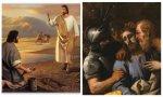 La historia de la humanidad trascurre entre Pedro y Judas. El pecador capaz de arrepentirse y el cumplidor persistente… y ligeramente hipócrita. Un devenir que transcurre entre la humildad y la soberbia