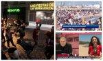 Cintora no tiene las cosas tan claras: publica un vídeo 'casero' sobre las fiestas ilegales en Madrid y alerta de turistas en Madrid utilizando imágenes... de la playa de la Barceloneta. Nos recuerda tanto a Ferreras...