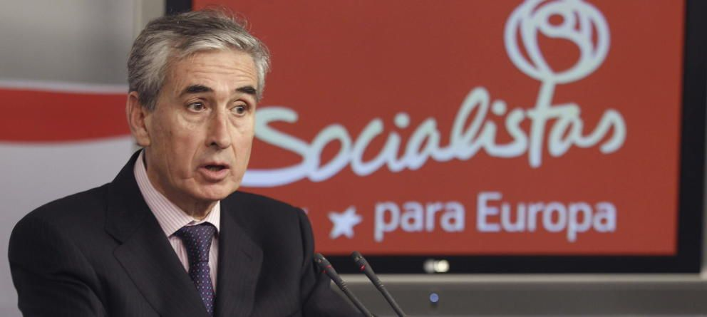 Ramón Jáuregui, eurodiputado del PSOE.