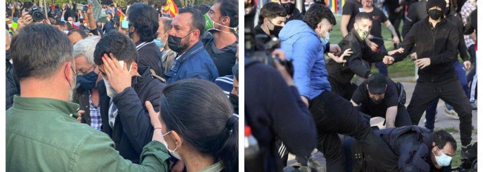 En Vallecas, Marlaska colaboró con Podemos para forzar las agresiones a Vox… y a sus propios policías