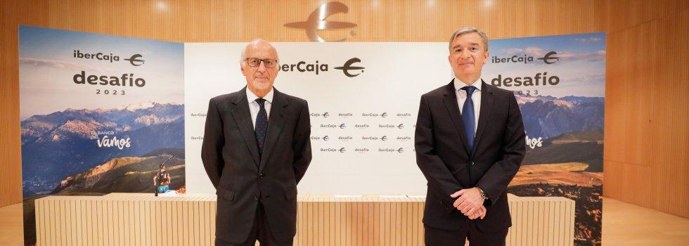 José Luis Aguirre y Víctor Iglesias son optimistas acerca de la salida a Bolsa de Ibercaja, antes de diciembre de 2022