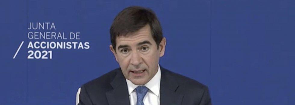 Carlos Torres asegura que el banco ha entregado toda la documentación al juez del caso Villarejo, incluso por duplicado