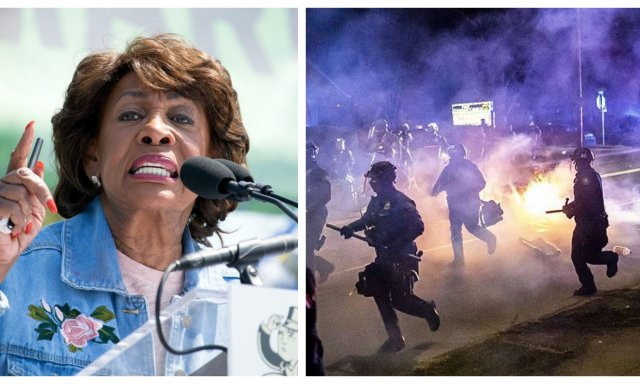 La congresista demócrata Maxine Waters jalea a los grupos antisistema e incita a la violencia, pidiendo más confrontación en las calles. Y El Partido Demócrata, al completo, le respalda