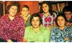 Amparo Portilla con algunos de sus hijos en una foto de la web www.amparoportilla.org