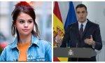 Coronavirus. La 'chica Disney' Selena Gómez le pide ayuda a Pedro Sánchez con el Covid