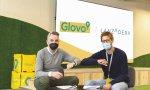 Javier Jiménez, director general de Lanzadera  y Oscar Pierre, CEO y cofundado de Glovo