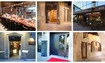 Restaurantes Umai, Mimolet, Índigo, Divinum, SiNoFos y Cal Ros en Girona, que participan en la prueba pilogo 'Obrir Girona', con certificados para comensales negativos de Covid-19