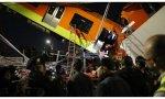 Ciudad de México. El derrumbe de un puente hace descarrilar un convoy del metro  23 fallecidos