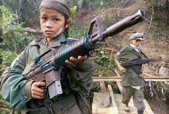 Crece el número de 'niños soldado' en todo el mundo