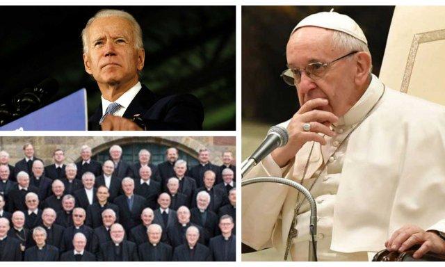 El Papa Francisco afronta la temible era del escándalo: desde Estados Unidos, con un Joe Biden que se dice católico y es el mayor abortero global… y desde Alemania, con unos obispos profanadores de la Eucaristía
