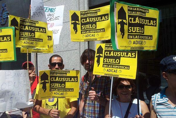 Cl usulas suelo los bancos con sabadell y bbva a la for Clausula suelo acuerdo judicial