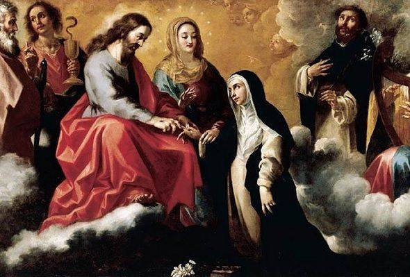 Santa Catalina de Siena, sin miedo a cantar las verdades al mundo entero